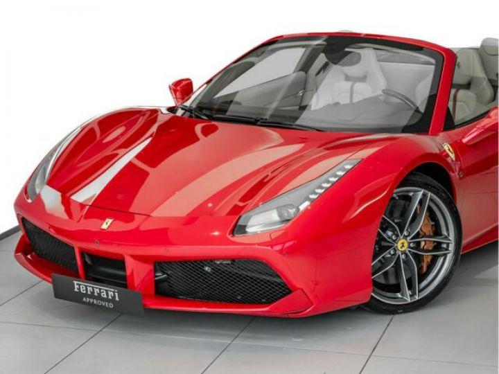 Ferrari 488 Spider PACK CARBONE#SUBLISSIME#Sièges Racing Rosso Corsa - 10