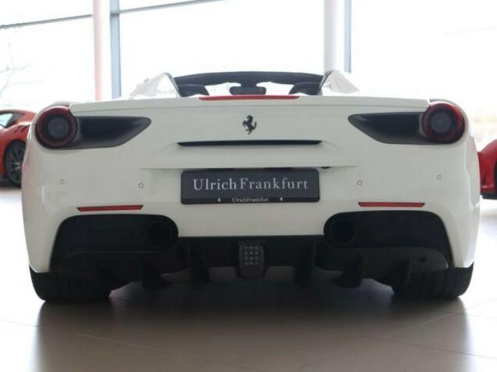 Ferrari 488 Spider V8 3.9 bi-turbo#Pack carbone Bianco Avus - 4