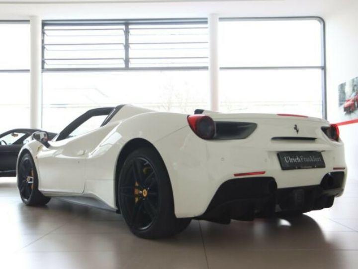 Ferrari 488 Spider V8 3.9 bi-turbo#Pack carbone Bianco Avus - 6