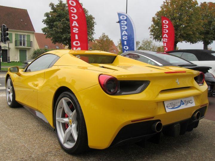 Ferrari 488 Spider V8 3.9 T 670CH Jaune Modena Occasion - 3