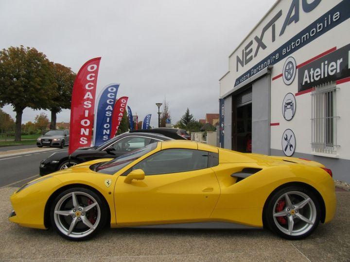 Ferrari 488 Spider V8 3.9 T 670CH Jaune Modena Occasion - 7