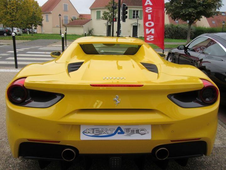 Ferrari 488 Spider V8 3.9 T 670CH Jaune Modena Occasion - 8