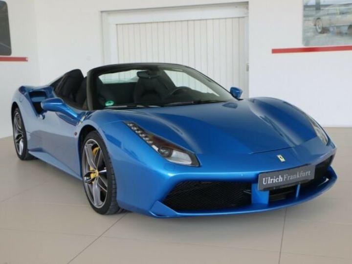 Ferrari 488 Spider V8 3.9 T 670ch#Blue Corsa Blu Corsa - 1