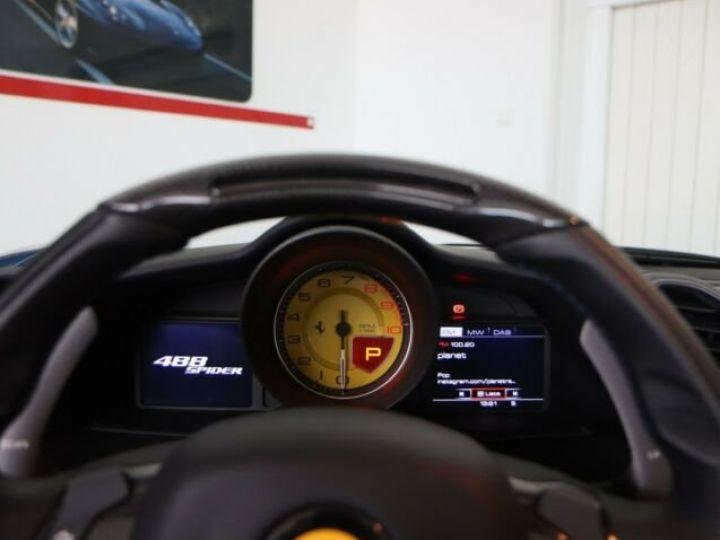 Ferrari 488 Spider V8 3.9 T 670ch#Blue Corsa Blu Corsa - 14
