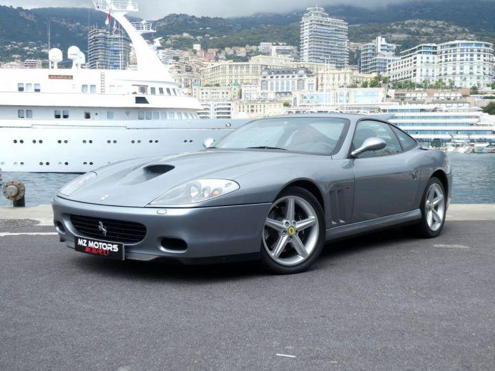 Ferrari 575 M MARANELLO F1 Grigio Titanio Occasion - 1