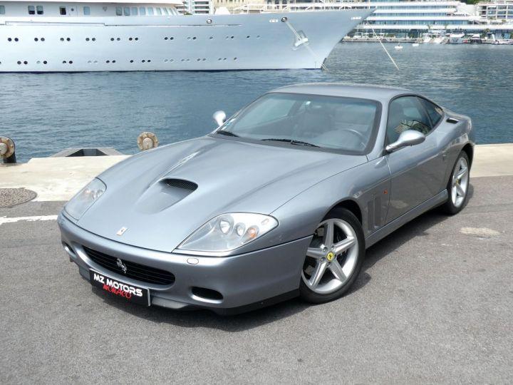 Ferrari 575M Maranello F1 Grigio Titanio Occasion - 4