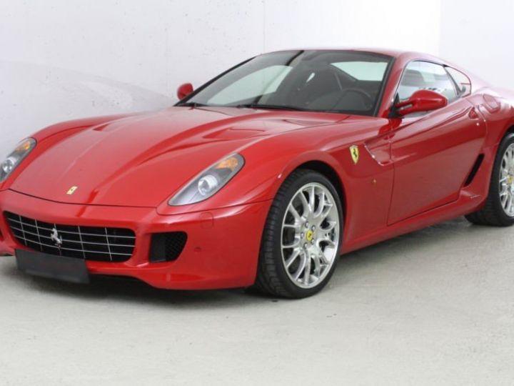 Ferrari 599 GTB Fiorano Fiorano F1 rouge - 1