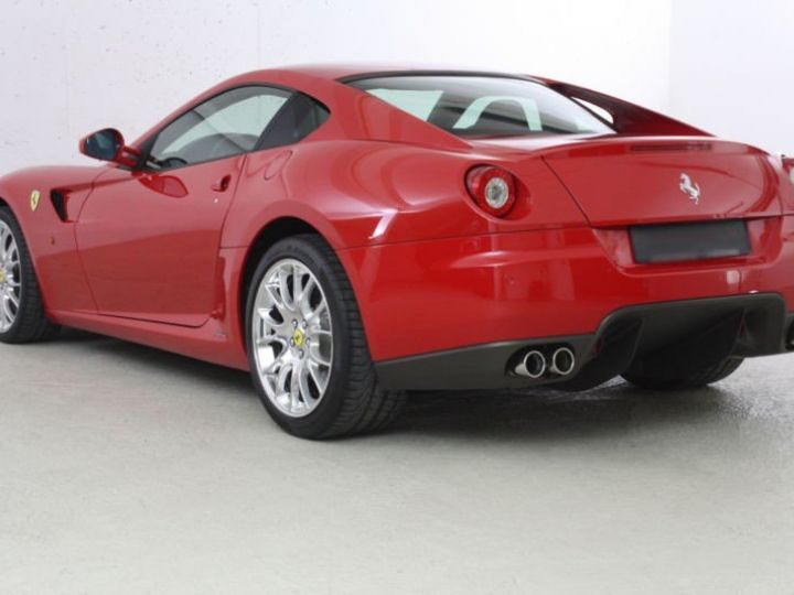 Ferrari 599 GTB Fiorano Fiorano F1 rouge - 2