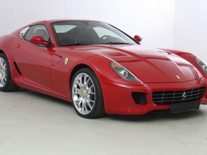 Ferrari 599 GTB Fiorano Fiorano F1 rouge - 3