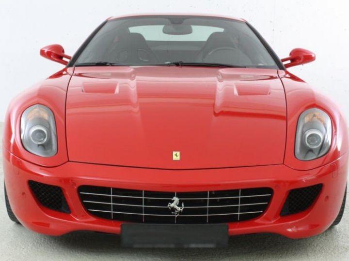 Ferrari 599 GTB Fiorano Fiorano F1 rouge - 9