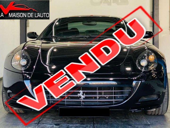 Ferrari 612 Scaglietti F1 ONE TO ONE *Entretien Ferrari - Garantie 12 mois - Livraison incluse * Noir métal - 1