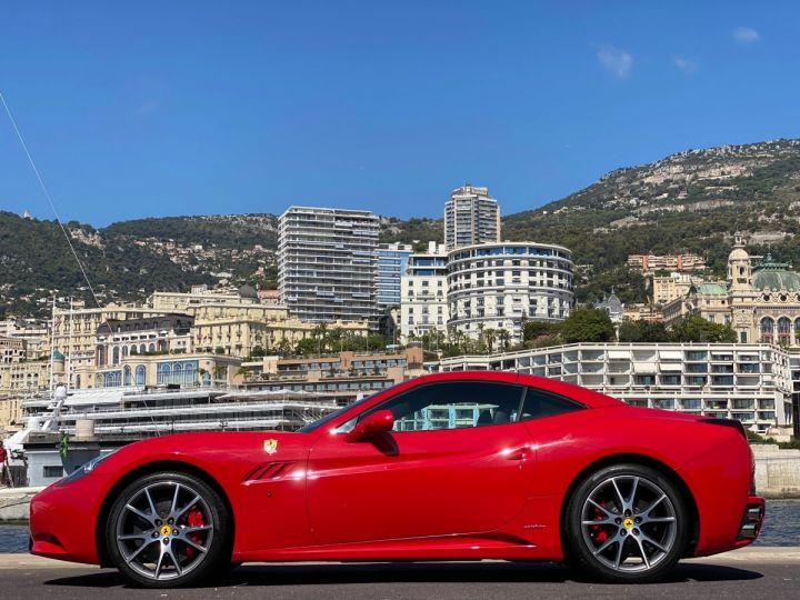 Ferrari California V8 F1 2+2 460 CV - MONACO Rosso Corsa - 4
