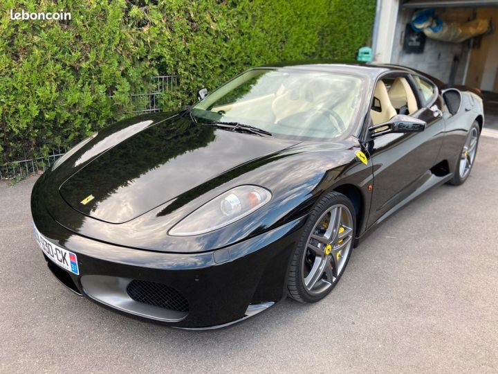 Ferrari F430 Sous garantie, 60eme anniversaire FRANÇAISE Noir - 1