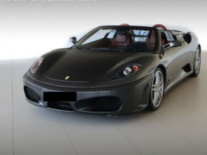 Ferrari F430 Spider Grigio Silverstone métal - 1