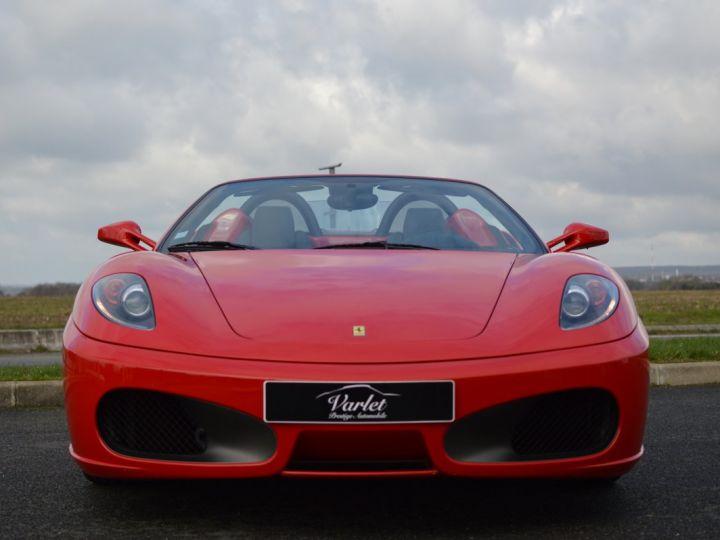 Ferrari F430 Spider RARISSIME FERRARI F430 SPIDER 4.3 V8 490ch BOITE MECANIQUE ROSSO ECUSSON DAYTONA CARBONE COLLECTOR ROSSO CORSA - 2