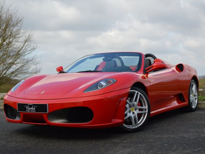 Ferrari F430 Spider RARISSIME FERRARI F430 SPIDER 4.3 V8 490ch BOITE MECANIQUE ROSSO ECUSSON DAYTONA CARBONE COLLECTOR ROSSO CORSA - 3