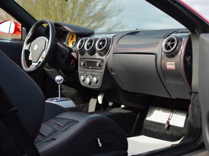 Ferrari F430 Spider RARISSIME FERRARI F430 SPIDER 4.3 V8 490ch BOITE MECANIQUE ROSSO ECUSSON DAYTONA CARBONE COLLECTOR ROSSO CORSA - 11