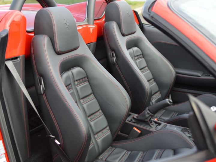 Ferrari F430 Spider RARISSIME FERRARI F430 SPIDER 4.3 V8 490ch BOITE MECANIQUE ROSSO ECUSSON DAYTONA CARBONE COLLECTOR ROSSO CORSA - 13