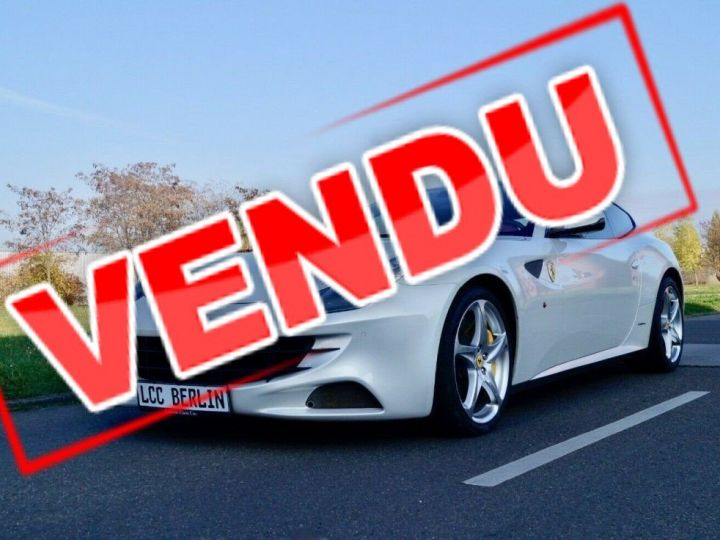 Ferrari FF Ferrari FF V12 6.3 660ch GPS/ 4X4 / Garantie 12 MOIS Livré TTC Blanc Nacré Métallisé tri couches - 1