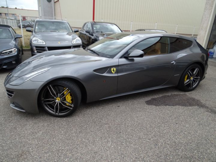 Ferrari FF V12 4M/Ceramique  Pack Carbone + Alcantara noir  Cameras Av et Ar ..... grigio silverstone met - 3
