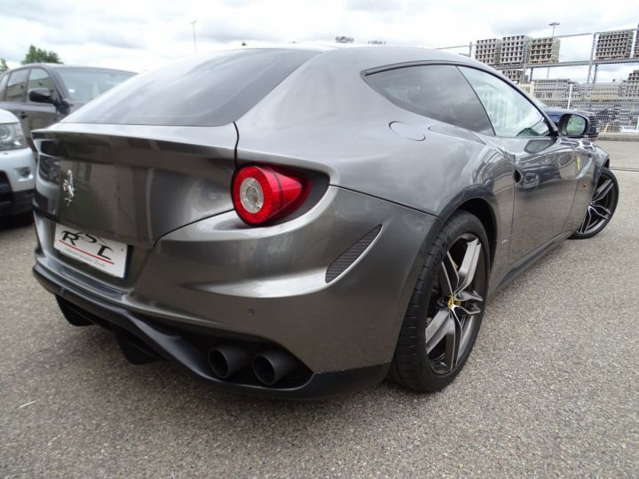 Ferrari FF V12 4M/Ceramique  Pack Carbone + Alcantara noir  Cameras Av et Ar ..... grigio silverstone met - 7