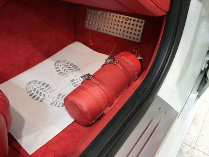 Ferrari FF V12 6.3 660ch 4X4/GPS/ Boite Auto 7 Vitesses *Pack sport - Cuir Rosso* Livré et garantie 12 mois Blanc - 9