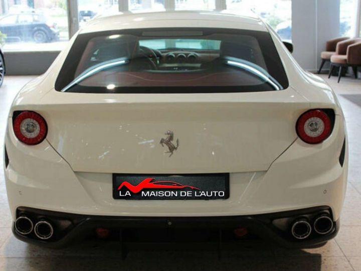 Ferrari FF V12 6.3 660ch 4X4/GPS/ Boite Auto 7 Vitesses *Pack sport - Cuir Rosso* Livré et garantie 12 mois Blanc - 17