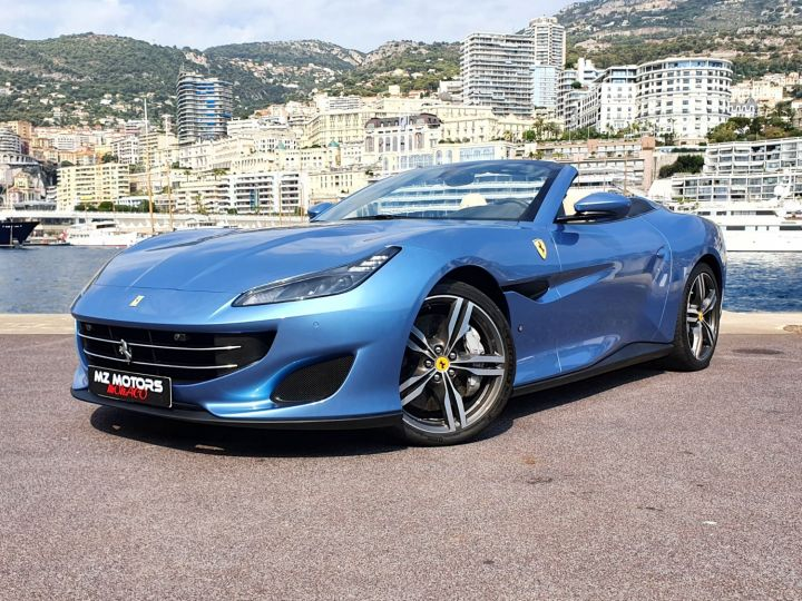 Ferrari Portofino 3.9 V8 GT TURBO 600 Azzurro California Occasion - 3
