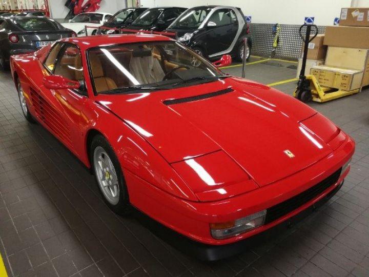 Ferrari Testarossa Rouge Occasion - 2