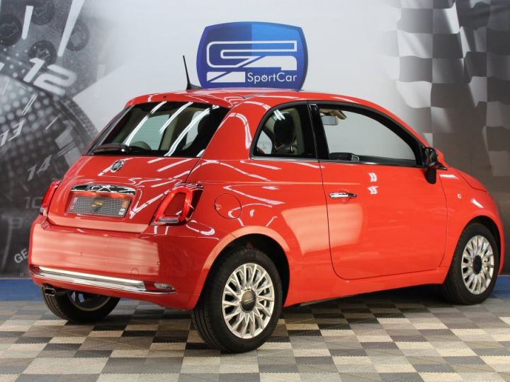 Fiat 500 0.9 8V 85CH TWINAIR S/S LOUNGE Corail red Occasion - 5