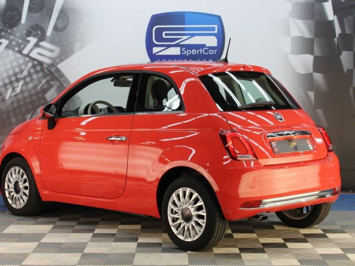 Fiat 500 0.9 8V 85CH TWINAIR S/S LOUNGE Corail red Occasion - 6