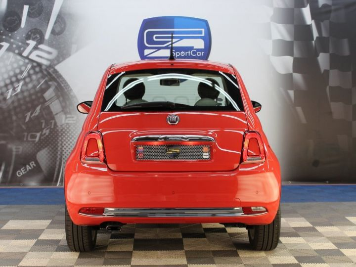 Fiat 500 0.9 8V 85CH TWINAIR S/S LOUNGE Corail red Occasion - 7