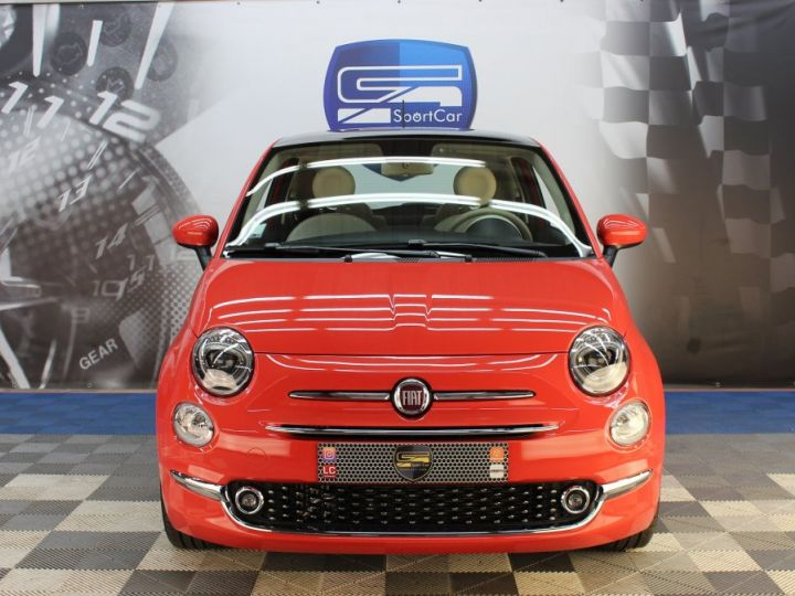 Fiat 500 0.9 8V 85CH TWINAIR S/S LOUNGE Corail red Occasion - 8