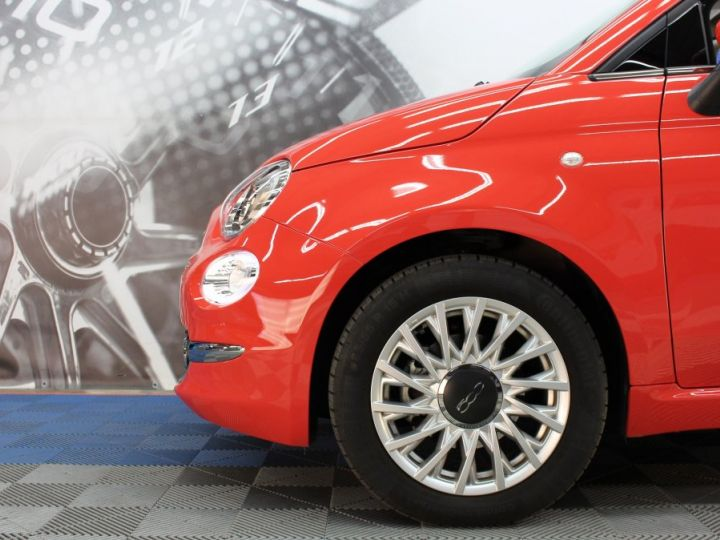 Fiat 500 0.9 8V 85CH TWINAIR S/S LOUNGE Corail red Occasion - 10
