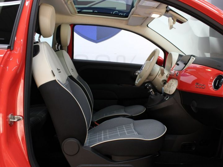 Fiat 500 0.9 8V 85CH TWINAIR S/S LOUNGE Corail red Occasion - 20