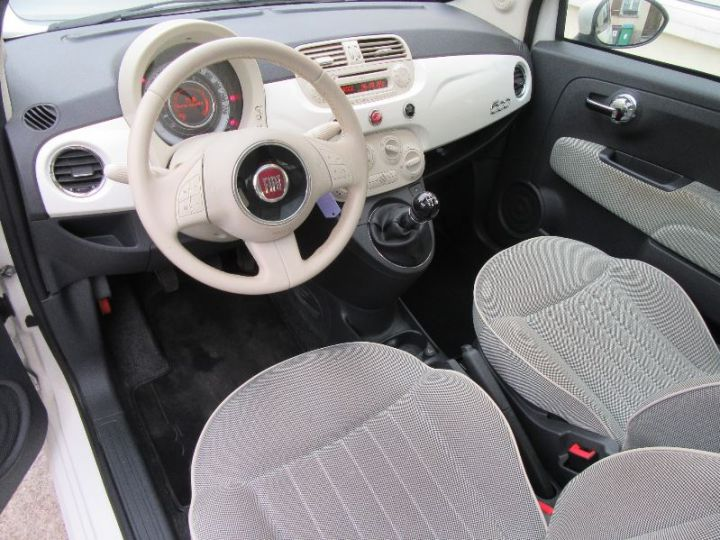 Fiat 500 1.2 8V 69CH LOUNGE BLANC Occasion - 2