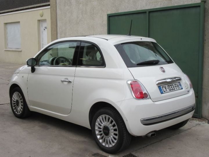 Fiat 500 1.2 8V 69CH LOUNGE BLANC Occasion - 3