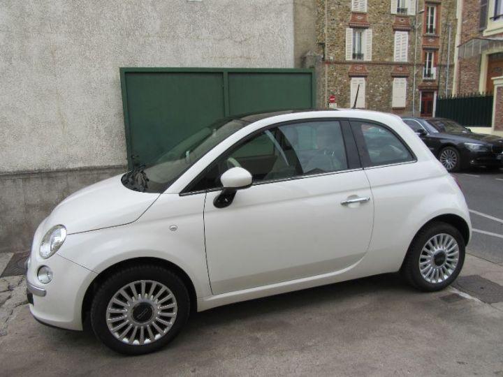 Fiat 500 1.2 8V 69CH LOUNGE BLANC Occasion - 5