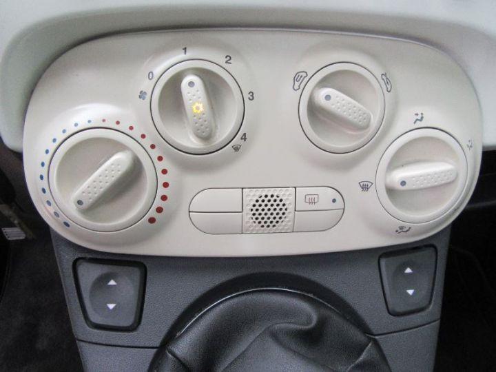 Fiat 500 1.2 8V 69CH LOUNGE BLANC Occasion - 9