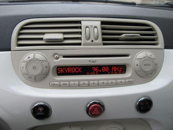 Fiat 500 1.2 8V 69CH LOUNGE BLANC Occasion - 10