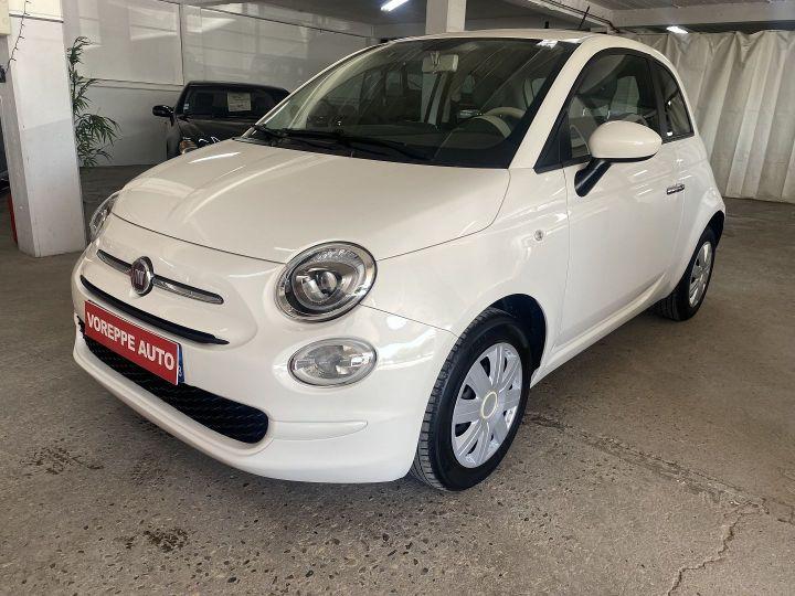 Fiat 500 1.2 8V 69CH POP Blanc - 1