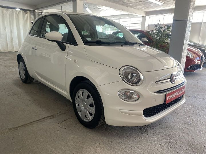 Fiat 500 1.2 8V 69CH POP Blanc - 3