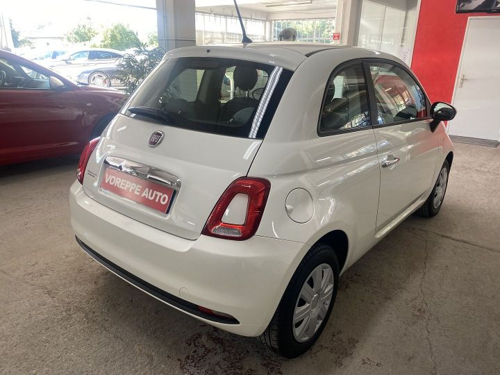 Fiat 500 1.2 8V 69CH POP Blanc - 4