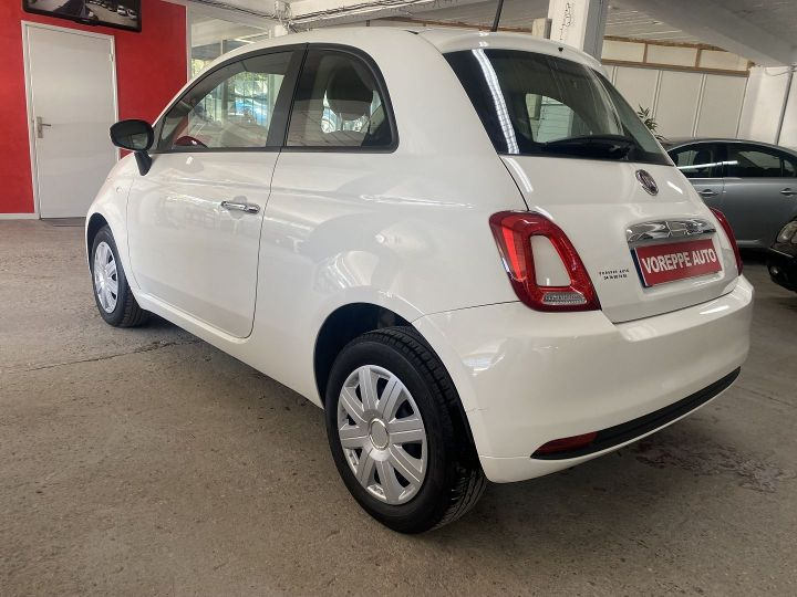 Fiat 500 1.2 8V 69CH POP Blanc - 6