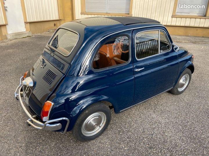 Fiat 500 500l 110f 1972 avec historique Bleu - 5