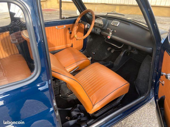 Fiat 500 500l 110f 1972 avec historique Bleu - 6