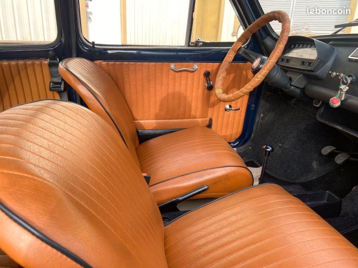 Fiat 500 500l 110f 1972 avec historique Bleu - 9