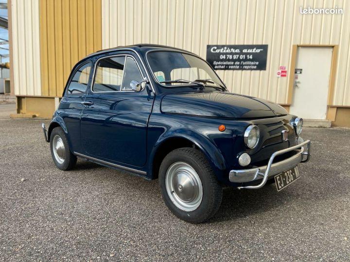 Fiat 500 500m 110f 1972 Bleu - 2