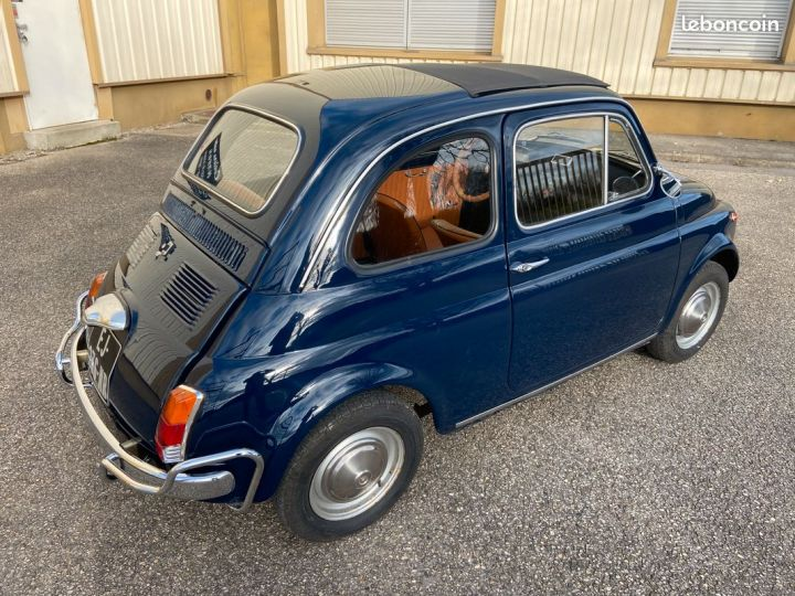 Fiat 500 500m 110f 1972 Bleu - 5