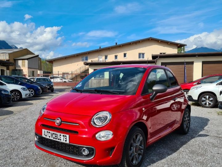 Fiat 500 500s 1.2 69 09/2016 42000kms CUIR SPORT GPS BLUETOOTH  - 1